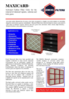 Maxicarb - Activated Carbon Filter Unit Brochure