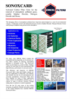 Sonoxcarb - Activated Carbon Filter Unit Brochure