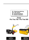 Pro Sweep - Model 950DE - Sweeper Brochure