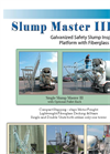 Slump Master - Model III - Galvanized Safety Slump Inspection Platform Brochure