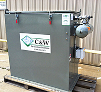 C&W - Model CP-35 - Cartridge Pulse Silo Dust Collector
