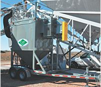 C&W - Model CP-5000M - Mobile Dust Collectors