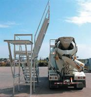 Slump Master - Model III - Galvanized Safety Slump Inspection Platform