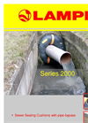 Model 2000 Series - Bypass Sewer Sealing Cushions - Brochure