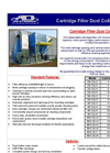 Cartridge Filter Dust Collectors Brochure