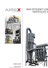 Airex - High Efficiency Centrifugal Particulate Separator - Brochure