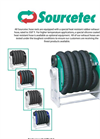Sourcetec - Model EHR Series - Manual Exhaust Hose Reel - Brochure