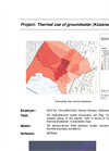 Thermal use of groundwater. A sustainability analysis.