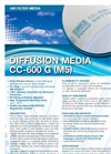 Model CC600 G(M5) - Fine Air Filtration Media - Brochure