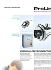 Aquionics - Model ProLine D Series - Automatic Pneumatic Cleaning System - Brochure