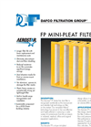 Aerostar - Model Series 750 Plus - Carbon Pleat Filter Brochure