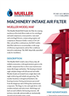 Mueller - Model MAF - Machinery Intake Air Filter - Brochure