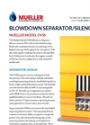 Model OVSS - High Volume Vent Silencer/Separator - Brochure