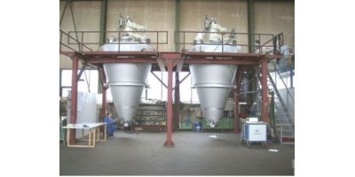 Model Series MF 010 - MF 600 - Conical Screw Vacuum Dryer