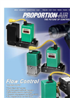 F-Series & FQB2 - Proportional Flow Control Valves Brochure