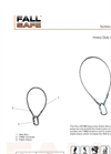 Fall Safe - Model FS803 - Heavy Duty Anchor Wire - Datasheet