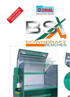 Model BSX - Downdraft Benches - Datasheet