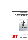 Type AN4 - Anemometer - User Manual