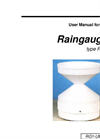 Type RG1 - Raingauge - User Manual