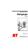 Type RG2 - Raingauge - User Manual