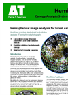 Delta-T - Model HemiView HEMIv9 - Forest Canopy Image Analysis System - Datasheet