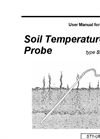 Type ST1 - Soil Temperature Probe - User Manual