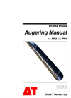 Model PR2 and PR1 Augering Manual