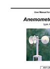 Type AN1 - Anemometer - User Manual