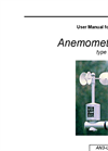Type AN3 - Anemometer - User Manual