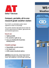Delta-T - Model WS-GP1 - Compact Weather Station Datasheet