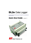 Delta-T - Model DL2e - Data Logger Quick Start Guide