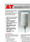 Types RHT2nl, RHT2v & AT2 - Relative Humidity & Air Temperature Sensors - Brochure