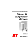 Types RHT2 and AT2 - RH and Air Temperature Sensors - Manual