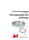 EV2 Evaporation Pan and Gauge - Manual