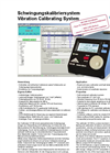 Model VC120 - Vibration Calibrating System  Brochure