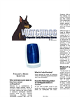 Watchdog - Seismic Warning Alarm System Brochure