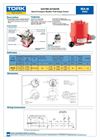 TORK - Model REA 40 - On/Off Electric Actuators Brochure