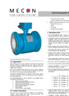 mag-flux - Model A - Magnetic Inductive Sensor (MID) Brochure