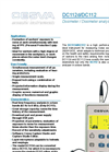 Model DC112d - Noise Dosimeter Brochure