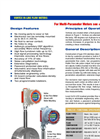 Vortex - Model VX - Wafer Style Flow Meters Brochure