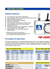 Model PWM - Paddlewheel Meters Brochure