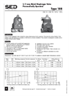 Model 188 - Pneumatically Operated Valve  Brochure