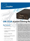 UN-152A eLoran Timing Receiver Brochure