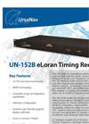 UN-152B eLoran Timing Receiver Brochure