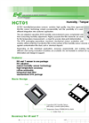 Model HCT01 - Pre-Adjusted Humidity and Temperature Sensor Brochure