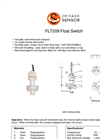 Chicago Sensor - Extended Length & Low-Level Float Switches Brochure