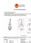 Chicago Sensor - Vertically Mounted Float Switches Brochure