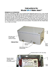 Water Alert - Model VR Series VR-4 - Water Leak Detection System Manual