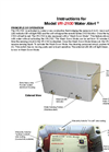 Water Alert - Model  VR-2100 - Water Leak Detection System Manual