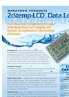 Model 2c\temp - Low Cost Multi Use Temperature Data Logger Brochure